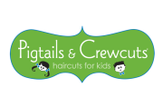 Pigtails & Crewcuts Franchise logo